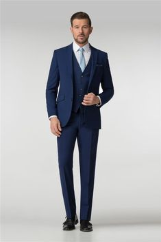 Men's suits from under and free delivery when you spend over Available in slim fit, regular or tailored to your style requirements. Terno Slim Fit, Wedding Suits, Mens Suits, Your Style, Suit Jacket, Formal, Fitness, Pants, Jackets