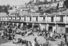 Darjeeling bazaar (market place) in 1916