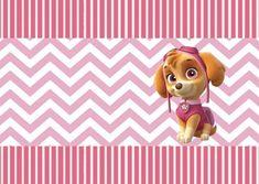 Inspire sua Festa ®   Blog Festa e Maternidade Sky Paw Patrol, Paw Patrol Party, Paw Patrol Birthday, Pets, Selena, Baby, Party Kit, Balloon Decorations Party, Paw Patrol