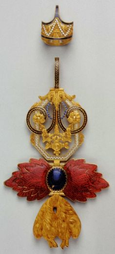 Spain, Golden Fleece Order, neck badge 130 x 71mm, belonged to king João VI of Portugel, Spada Collection.
