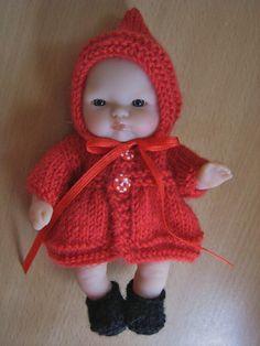 Hand Knitted 5 Berenguer Dolls Clothes by DesignerDollsClothes, £7.50
