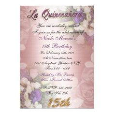 >>>Coupon Code          La Quinceanera 15th birthday invitation elegant           La Quinceanera 15th birthday invitation elegant online after you search a lot for where to buyDeals          La Quinceanera 15th birthday invitation elegant lowest price Fast Shipping and save your money Now!!...Cleck Hot Deals >>> http://www.zazzle.com/la_quinceanera_15th_birthday_invitation_elegant-161251849598840173?rf=238627982471231924&zbar=1&tc=terrest