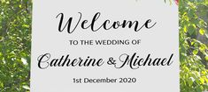 NZ Made Wedding Sign, Personalised seating plan chart print on Foamboard for party / event Party Venues, Unique Presents, Personalized Signs, New Sign, Wall Signs, Wedding Signs, Signage, Wall Decals, How To Plan
