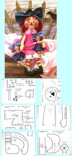 Could use this pattern for dolls other than raggity ann dolls.