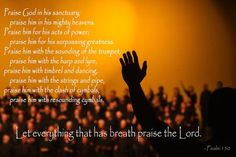 Corpus JEHOVAH TRIUMPH Institutes - Foundational Verses Psalm 150 - Praise The LORD