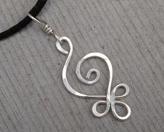 Celtic Sterling Silver Pendant  Budding by nicholasandfelice, $15.00