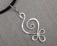 Celtic Sterling Silver Pendant Budding by nicholasandfelice, $15.00