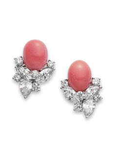 Conch pearl earrings - Mikimoto pearl earrings.  Probably the most gorgeous earrings I've ever seen.  Wow!