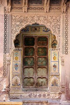 Indian door | Flickr - Photo Sharing!