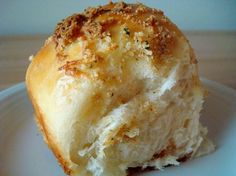 Cheese Filled Rolls with Buttery Parmesan Crust