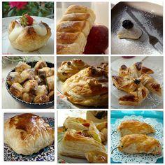 milföylü tarifler Baked Potato, Food And Drink, Potatoes, Baking, Breakfast, Ethnic Recipes, Puff Pastry Recipes, Morning Coffee, Potato
