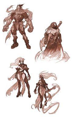Darksiders - Concept Artwork i Character Art