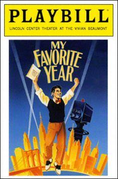 My Favorite Year Playbill - Opening Night, Dec 1992