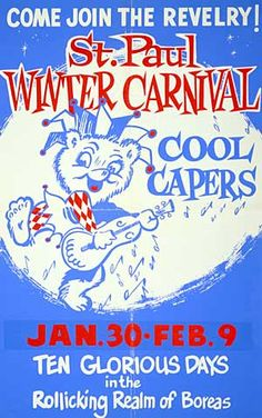 St. Paul Winter Carnival Poster 1959