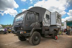 Oddball from 2018 Overland Expo West Overland Truck, Overland Trailer, Expedition Vehicle, Off Road Camping, 4x4 Off Road, Off Road Adventure, Adventure Campers, Truck House, Indoor Shooting Range