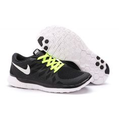 81f8639a50 Lightweight Nike Free 5.0 Women s Running Shoe Black Green Nike Free Run 2