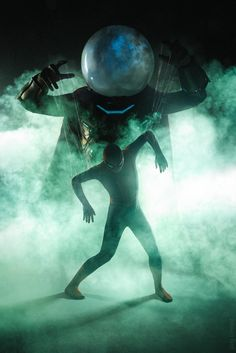 Mysterio and Spiderman cosplay - Marvel Universe Marvel Dc, Marvel Villains, Marvel Memes, Marvel Comics, Star Lord, Tom Holland, Thor, Iron Man, Mysterio Marvel