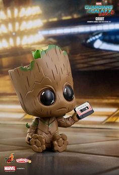 「I am Groot!」Hot Toys COSB360 《星際異攻隊2》格魯特 Groot Cosbaby Bobble-Head 3-Pack | 玩具人Toy People News