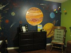 solar system nursery baby room - photo #7