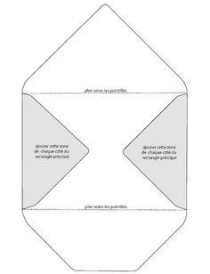 Enveloppe personnalisée , Tuto pour faire - Loisirs créatifs                                                                                                                                                     Plus