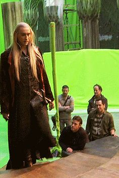 I HAVE BEEN LOOKING FOR THIS GIFSET FOR FOREVAHHHHHH!!!! <3 I NEED A CAPTION FOR THIS FABULOUSNESS PLEASE @snc2252   {Thranduil BTS gifset}