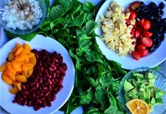 A colorful and tasty Vegan Cobb Salad | Reluctant Entertainer