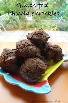 Craft with Ruth Cartwright: Gluten free chocolate crackles recipe