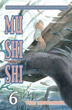 Mushishi, Volume 6 by Yuki Urushibara http://www.amazon.com/dp/0345501667/ref=cm_sw_r_pi_dp_zkMSvb1QN9HQV