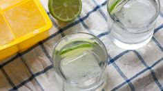 Make ice cubes out of tonic water for awesome flavor as it melts.