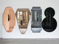 Labess, Choukran, Chkoun and Yallah' Mirrors, Morocco Furnishings Collection by José Lévy