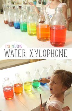 Rainbow Water Xylophone | Mama.Papa.Bubba.