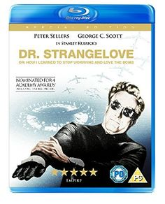 Strangelove Or: How I Learned to Stop Worrying and Love the Bomb Reino Unido Blu-ray Man Movies, Good Movies, Top Movies To Watch, Dr Strangelove, Jean Reno, Learn Portuguese, Gifts For Photographers, Every Man, Stanley Kubrick