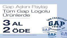 Gap Şubat 2014 Sevgililer Gününe Özel 3 Al 2 Öde Kampanyası