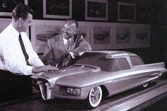 Edsel concept model, the horse collar grille a prominent feature. Ford Edsel, Car Ford, Pontiac Aztek, Retro Futuristic, Us Cars, Triumph Motorcycles, Transportation Design, Automotive Design, Concept Cars