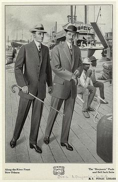 1912 edwardian mens day wear