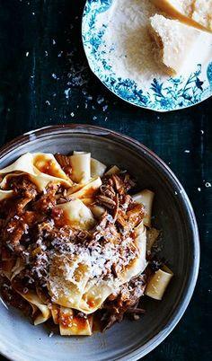 DUCK RAGU PAPPARDELLE [Italy] [gourmettraveller]