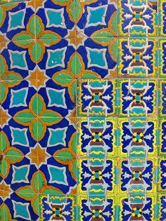 Blue Tiles by LouBu, via Flickr