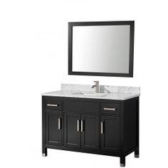 MTD Vanities MTD-6248 Ricca Single Sink Modern Bath Vanity with Mirror