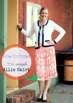 Freshly Completed: The Allie Skirt ~Tutorial~