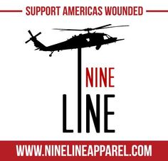 Nine Line Apparel - Started by military brothers to raise funds for the 3rd most severely injured soldier ever to survive at Walter Reid, Capt. Ed Klein - expanding to help America's most severely wounded warriors - outstanding quality apparel!