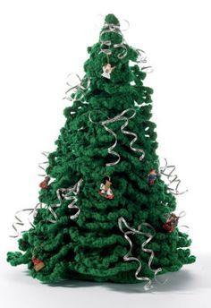 Crochet Christmas tree (free pattern) ✿⊱╮Teresa Restegui http://www.pinterest.com/teretegui/✿⊱╮