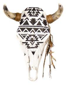 GANADO NAVAJO COW SKULL