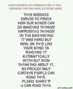 Can you Read this? 1 of 4 said to be able to. The less  you concentrate the easier it is .
