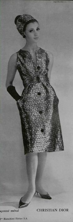 1962 Christian Dior - L'OFFICIEL DE LA MODE n°485-486 de 1962 / Page 273