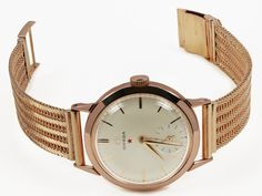 Vintage 18k Omega Watch