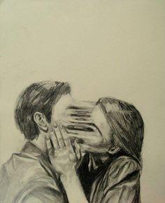 Imagen de love, kiss, and art