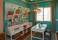 I want this craft room! LOVE!