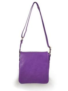 New York Cross-body Handbag (Purple),