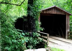 """Georgia, my home state.... """"Elder's Mill Bridge - Was constructed in 1897. The bridge originally spanned Calls Creek on the Watkinsville-Athens Road and was moved by wagon to its present location in 1924. It is one of only a few bridges in Georgia that still carries traffic without help from underlying steel beams."""""""