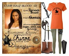 """""""camp half-blood i.d. #15"""" by silent-killer ❤ liked on Polyvore featuring rag & bone/JEAN, Whetstone Cutlery, Steve Madden, Holster and Shield"""